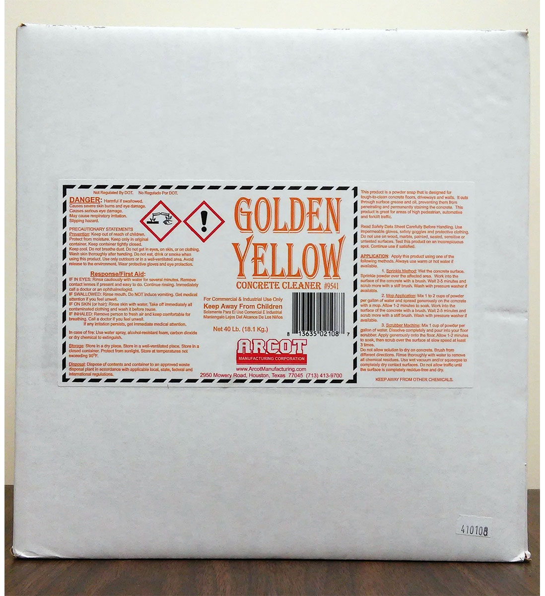 Golden Yellow