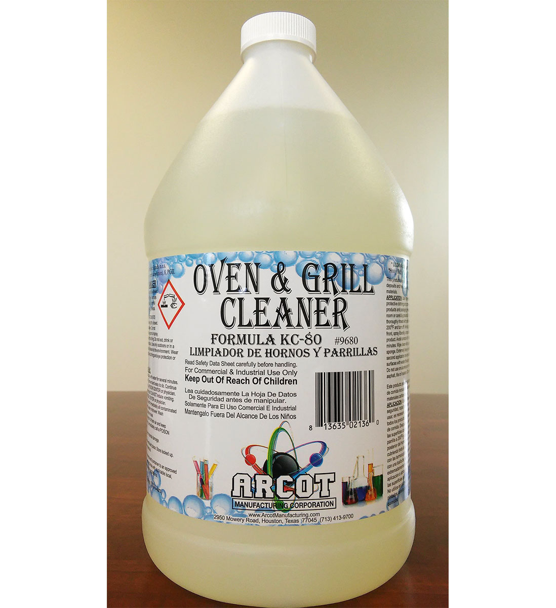Oven & Grill Cleaner Formula KC-80