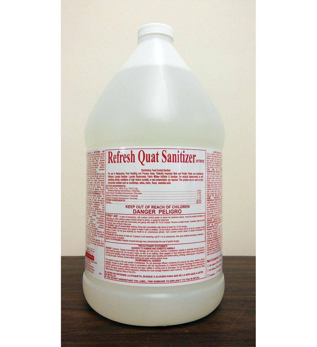 Refresh Quat Sanitizer 1