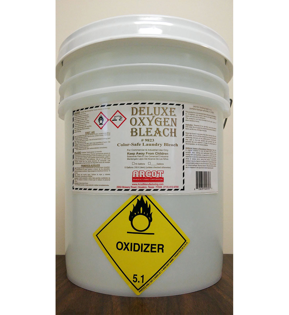 Deluxe Oxygen Bleach