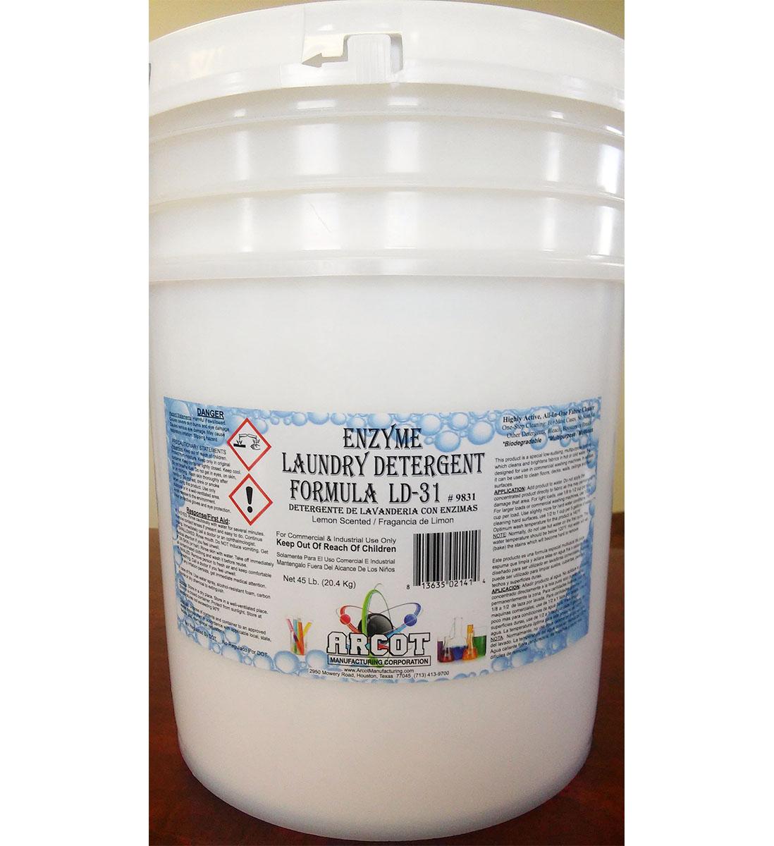Enzyme Laundry Detergent Formula LD-31 1