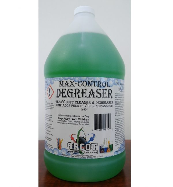 6674 Max-Control Degreaser gallon for website