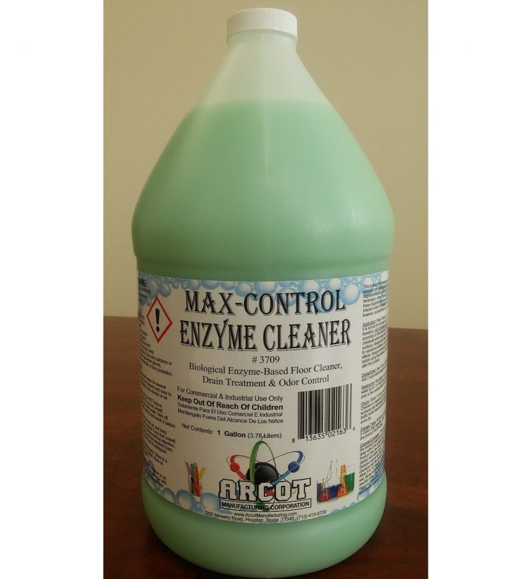3709 Max-Control Enzyme Cleaner 1 gal – 20180108 for website