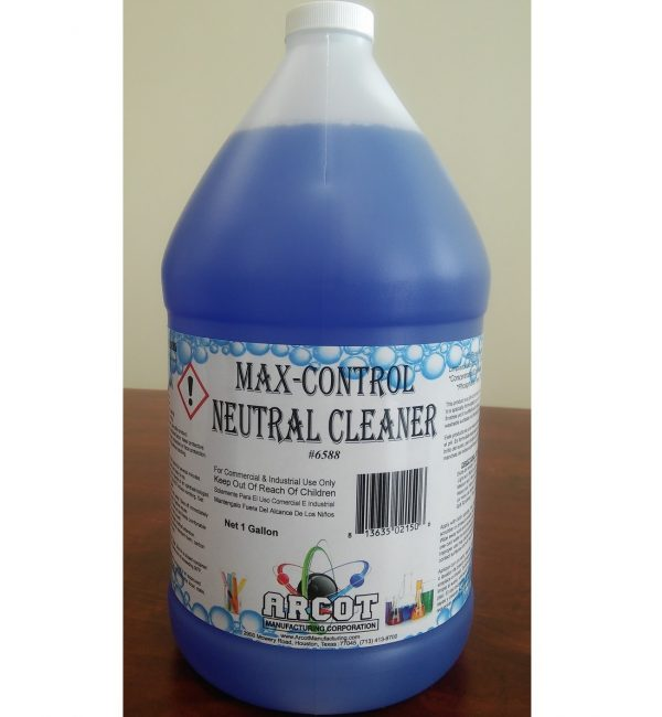 6588 Max-Control Neutral Cleaner 1 gal – 20180108 for website