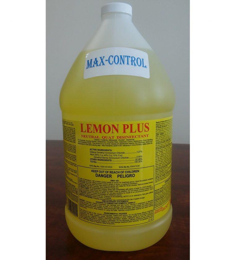 6689 Max-Control Lemon Plus 1 gal – 20180108 for website
