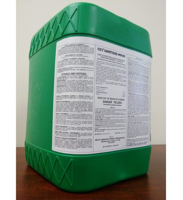 6626 Oxy Sanitizer Fruit & Vegetable 4-gal 20181023 for website