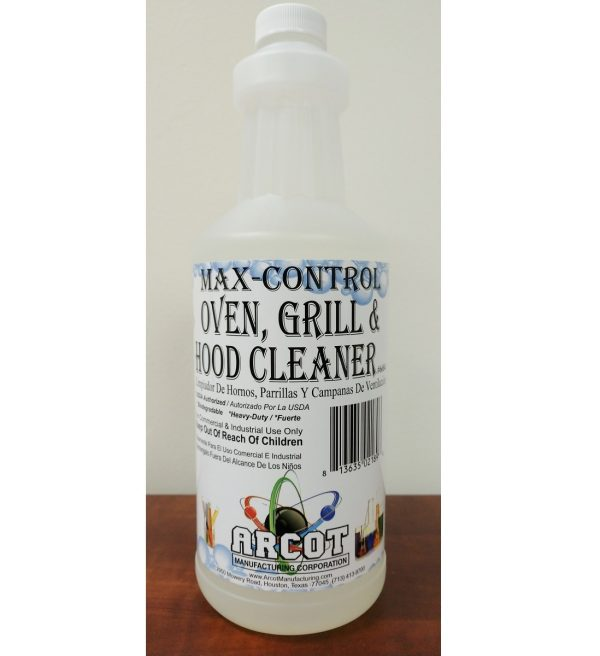6684 Max-Control Oven Grill and Hood Cleaner 1 qt 20181231 – for website