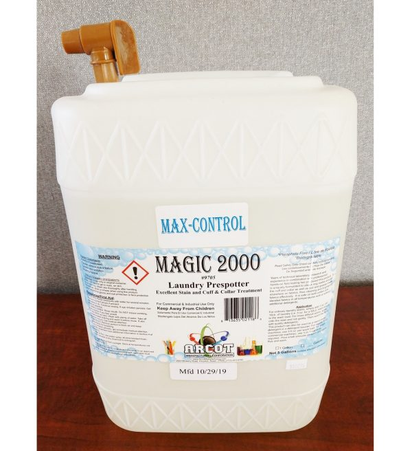 9705 Max-Control Magic 2000 5-gal buddy jug 20191101 for website