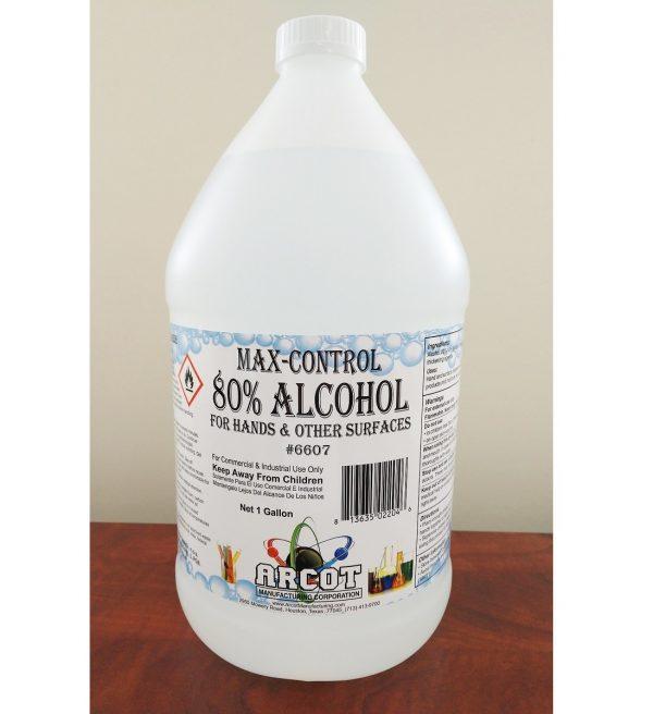 6607 Max-Control 80% Alcohol gallon 20200422 for website