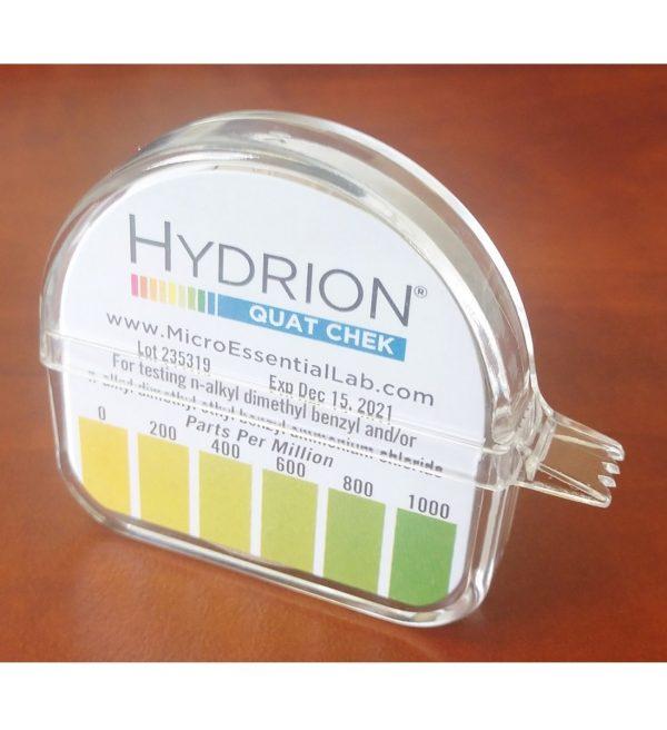Hydrion QC-1001 High-Range Quat Test Strips 20200401 (kit) – for website