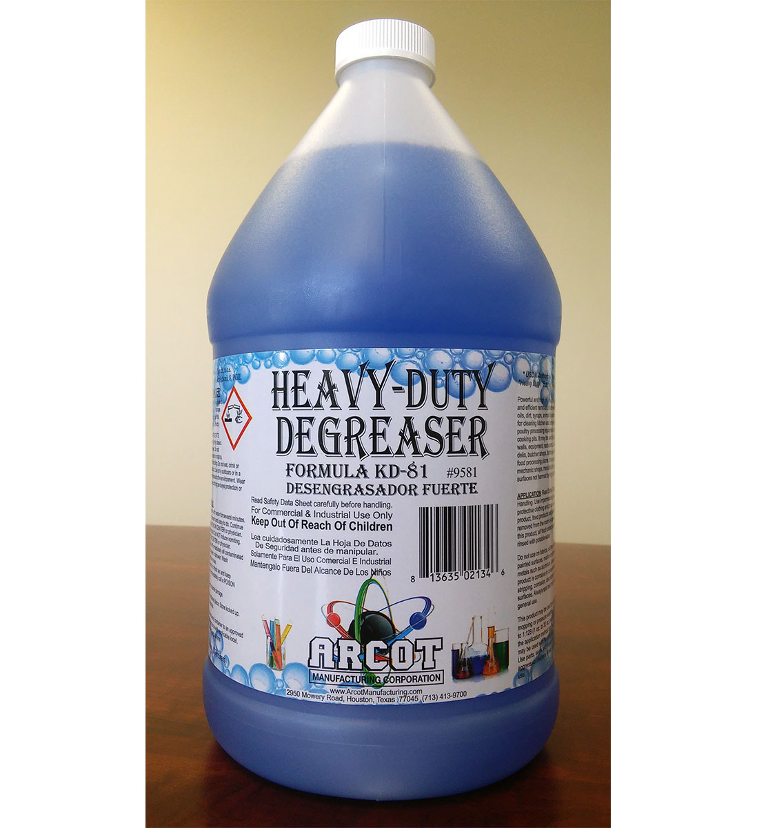 Heavy-Duty Degreaser Formula KD-81