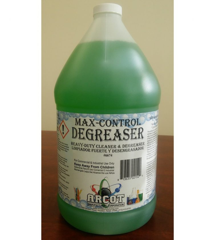 6674 Max-Control Degreaser 1 gal – 20180108 for website