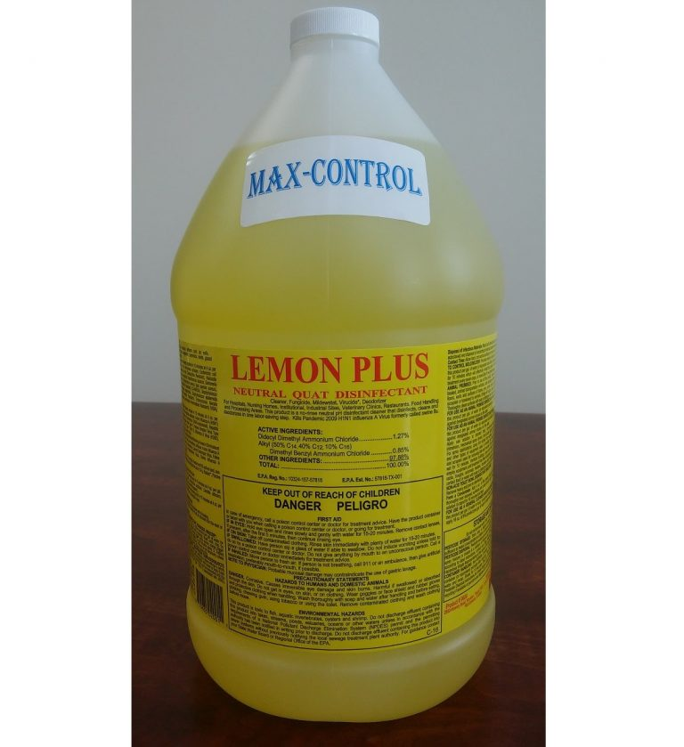 6689 Max-Control Lemon Plus 1 gal – 20180108 for website