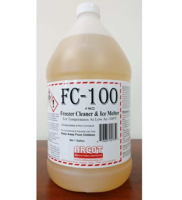 FC-100 Freezer Cleaner & Ice Melter – Arcot Manufacturing