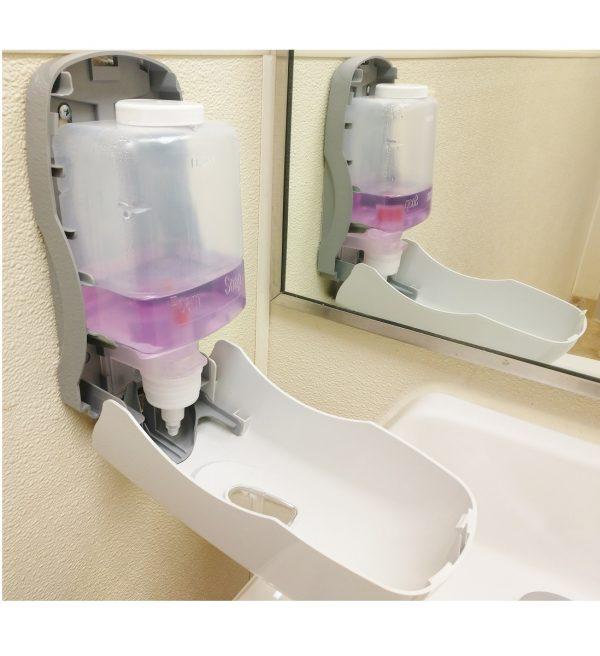 5525 Foam Soap Dispenser open (side view) 1 for website