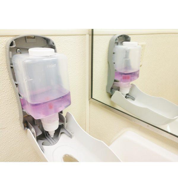 5525 Foam Soap Dispenser open (side view) 2 for website
